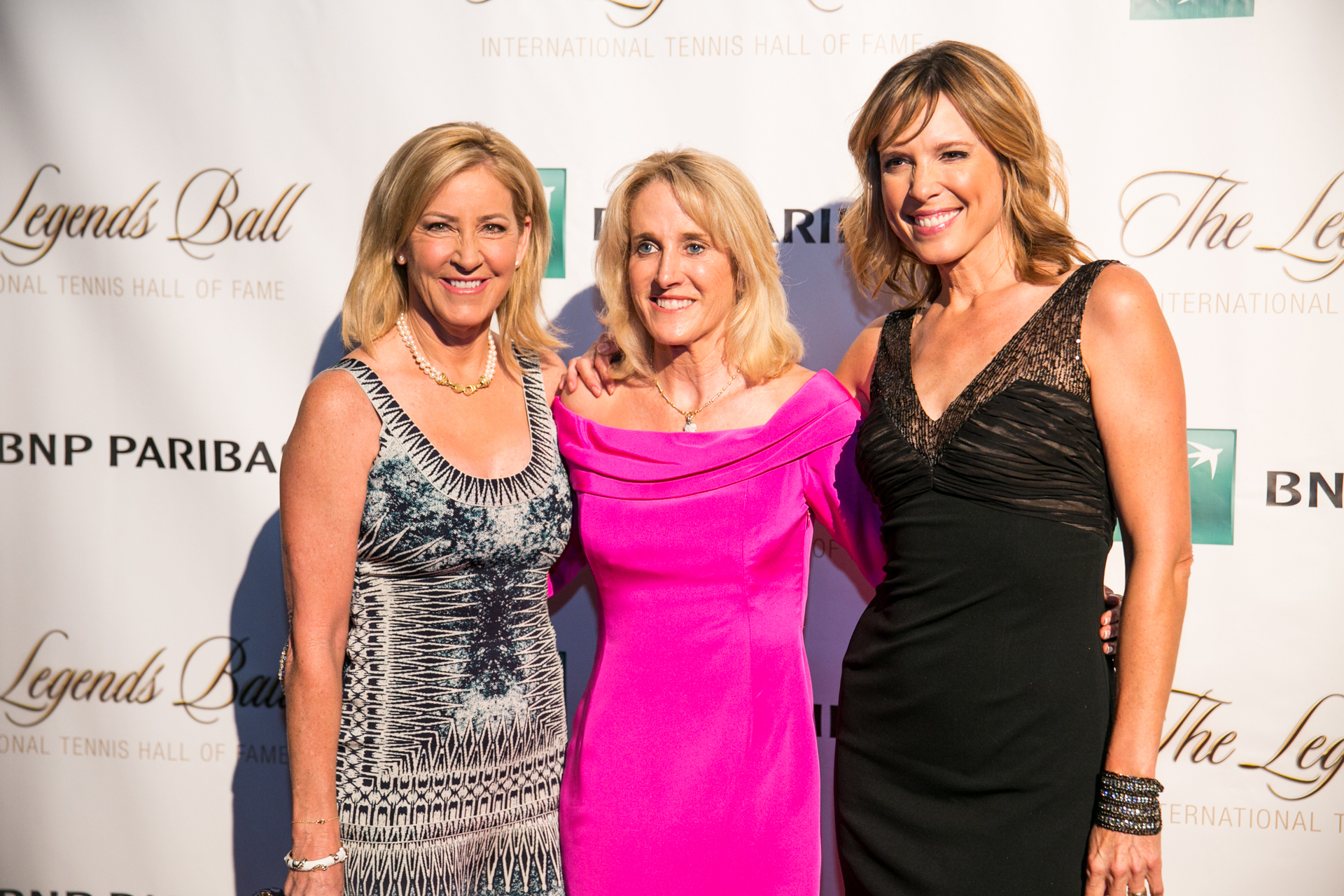GlamSlam Tennis legends on the red carpet – COURTGIRL