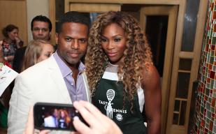 AJ Calloway and Serena Williams