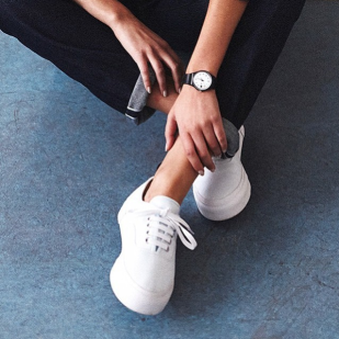 Retro tennis sneaks by @eytys via @netaporter.