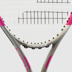Babolat Flow Racquet: The new Babolat Flow appeals to recreational tennis lovers looking for power, playability and control (Mama likes power & control).
