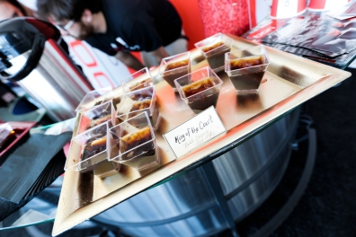 "BONJO Coffee sampling custom shots such as ""Queen of the Court"", ""The COURTGIRL"", ""The ACE"" and ""Tweener"""