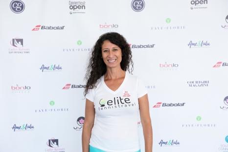 Adriana Isaza of Elite Tennis Travel