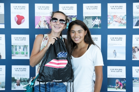 Raffle Winners of the BABOLAT Shoe Bag with Gifts