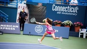 Aga Radwanska playing Elina Svitolina