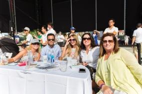 You know it's a party when Chelsea Piers Tennis Club arrives! Deborah Salomon, Kevin Losada, Deborah Brennan, Wendy Gardiner, Patti Ransom